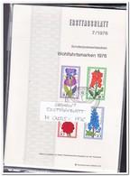 Duitsland 1976, 14 Ersttagsblätter With Doubles Only 5ct Each ( 101 Gram ) - [7] West-Duitsland