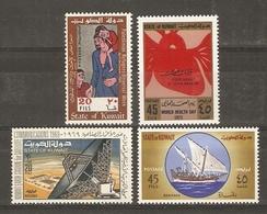 Koweït  - Kuwait - Petit Lot De 4 MNH - Sc 477/486/488/546 - Koweït