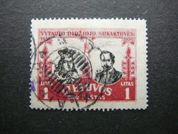 Lietuva Litauen Lituanie Litouwen Lithuania # 1930 Used # Mi. 313 - Lituanie