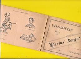 """Catalogue 189? Cycles """" Marius BERGER"""" St Etienne 8 Pages Format à L'italienne 20 X 13 Cm Env.. - Cyclisme"""