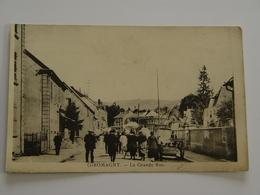 TERRITOIRE DE BELFORT-GIROMAGNY-LA GRANDE RUE ANIMEE - Giromagny