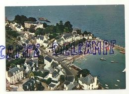 France. Finistère. Locquirec. Vue Aérienne. Le Port. L'Hôtel D'Armorique. CIM. Combier Imprimeur Mâcon - Locquirec