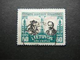 Lietuva Litauen Lituanie Litouwen Lithuania # 1930 Used # Mi. 312 - Lithuania