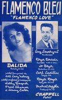 PARTITION DALIDA - FLAMENCO BLEU - 1956 - EXCELLENT ETAT COMME NEUVE - - Autres
