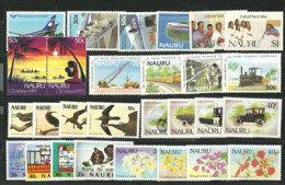 Années Complètes  1985 & 1986 .  28 T-p Neufs   **    Cote  49.00  € - Nauru