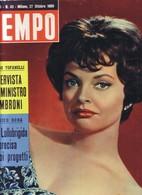 (pagine-pages)NADJA TILLER  Tempo1959/43. - Libri, Riviste, Fumetti