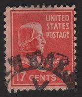 1938 US, 17c Stamp, Used, Andrew Johnson, Sc 822 - United States