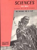 Sciences Ecoles Rurales Classe De Fin D'etudes +++TBE+++ PORT GRATUIT - Books, Magazines, Comics