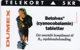 Denmark, KP 128, Betolvex, Only 4200 Issued, 2 Scans.  Please Read Desc. - Denmark