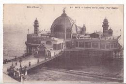 Carte Postale NICE Casino De La Jetée - Bauwerke, Gebäude
