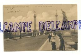 Exposition Universelle De Liège 1905. Vue Prise Du Pont De Fragnée. Carte Animée. Carte Officielle De L'Exposition - Liege