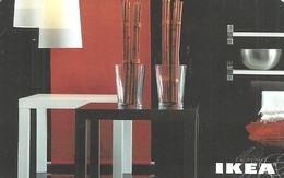 IKEA * FURNITURE STORE * SWEDEN * SWEDISH * LAMP * TABLE * GLASS * BOWL * Ikea 2010 05 De D * Germany - Cartes Cadeaux