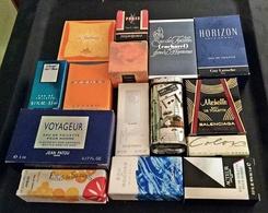 Lot De 16 Miniatures De Parfum Avec Boites (M076-3) - Miniatures De Parfum