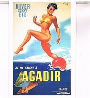 PUBLUCITES MAROC  AGADIR    CPM  TBE  MA42 - Agadir