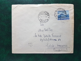 (14374) STORIA POSTALE ITALIA 1954 - 6. 1946-.. Repubblica