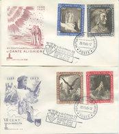 SAN MARINO - FDC CAPITOLIUM 1965 - DANTE ALIGHIERI - FDC