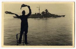 WK II.,Schlachtschiff Der Bismarck Klasse - Oorlog 1939-45