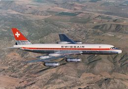 Aviation, Convair-Coronado 990 De Swissair (204) 10x15 - 1946-....: Ere Moderne