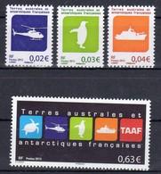TAAF Poste 678 681 NEUFS** TRES BEAUX - Neufs