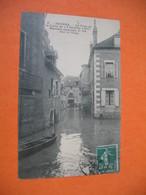 CPA    Nevers Crue De La Loire Du 19 Octobre 1907  Rue Du Singe - Nevers
