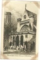 75 CPA Paris Gravure Eau Forte Eglise Saint Germain L'auxerrois  Pinet Graveur N°22 ? - Churches