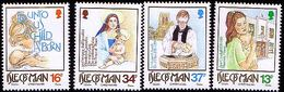 Isle Of Man 1989 Mi 417 - 420 Christmas, 50 Years Of Activity By J. Crookaill Baptism Church Cathedral. MHN** W910 - Man (Ile De)