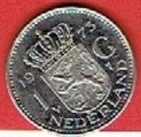 NETHERLANDS #  1 GYLDEN FROM 1973 - [ 3] 1815-… : Kingdom Of The Netherlands
