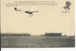 Monoplan Morane     Morane - Airmen, Fliers