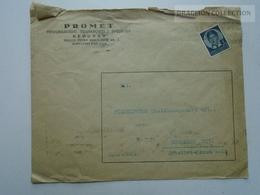 ZA167.18 Yugolslavia - PROMET Intern. Transport - BEOGRAD - To Filmexpress Kft Hungary  1940 - Covers & Documents