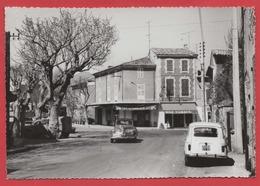 CPA - 84  St.-SATURNIN Les AVIGNON  - Le Centre - Commerces, Voitures ... - Autres Communes