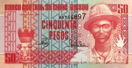 Guinea Bissau 50 Pesos, P-10 (1.3.1990) - UNC - Guinea-Bissau