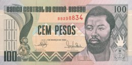Guinea Bissau 100 Pesos, P-11 (1.3.1990) - UNC - Guinea-Bissau