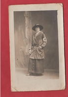 Carte Photo Infirmière - 1914-18