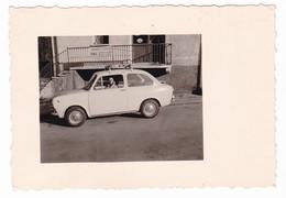 "AUTO - CAR - VOITURE - FIAT  ""850"" - Portasci - FOTO ORIGINALE - Automobili"