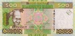 Guinea 500 Francs, P-39a (2006) - UNC - Guinea