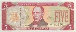 Liberia 5 Dollars, P-26a (2003) - UNC - Liberia