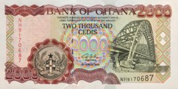 Ghana 2.000 Cedis, P-33h (4.8.2003) - UNC - Ghana