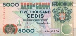 Ghana 5.000 Cedis, P-34e (1.7.2000) - UNC - Ghana
