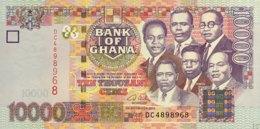 Ghana 10.000 Cedis, P-35a (2.9.2002) - UNC - Ghana