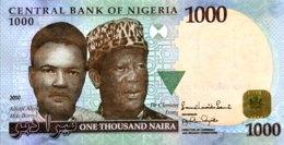 Nigeria 1.000 Naira, P-36d (2010) - UNC - Nigeria