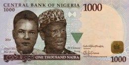 Nigeria 1.000 Naira, P-36i (2016) - UNC - Nigeria