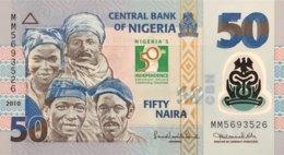 Nigeria 50 Naira, P-37 (2010) - UNC - 50 Years Indipendence Of Nigeria - Nigeria