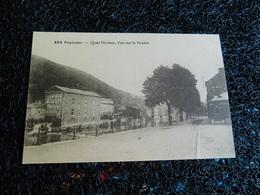 Pepinster, Quai Nicolay, Vue Sur La Vesdre, Non Circulée  (U6) - Pepinster