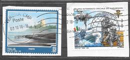 Italia 2018  Turismo Italia Pineto | Gruppo Intervento Speciale Carabinieri. Usati - 6. 1946-.. Repubblica