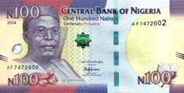 Nigeria 100 Naira, P-41 (2014) - UNC - 1914-2014 Banknote - Nigeria