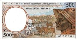 Central African States 500 Francs, P-101Cg (2000) - UNC - CONGO - Zentralafrikanische Staaten
