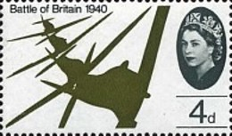 USED  STAMPS Great-Britain - The 25th Anniversary Of The Battle Of Britain - 1965 - 1952-.... (Elizabeth II)