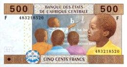 Central African States 500 Francs, P-506F (2002) - UNC - EQUATORIAL GUINEA - Zentralafrikanische Staaten