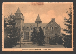 Saint-Ode - Maison De Cure De Saint-Ode - Façade Nord - Carte Vernie - Sainte-Ode