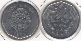 Costa Rica 20 Colones 1985 KM#216.2 - Used - Costa Rica